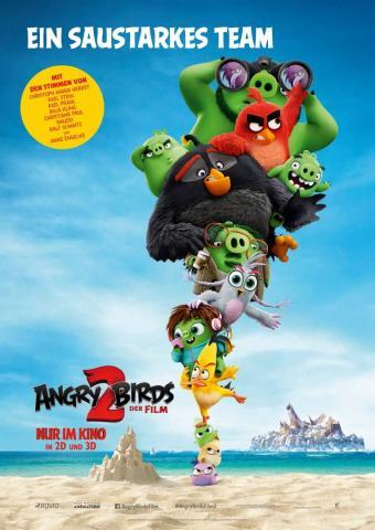 Angry Birds 2 Filmplakat