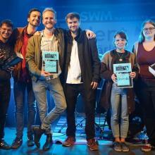 Gewinnerinnen und Gewinner 1.  Vorrunde SWM Telantverstärker 2021
